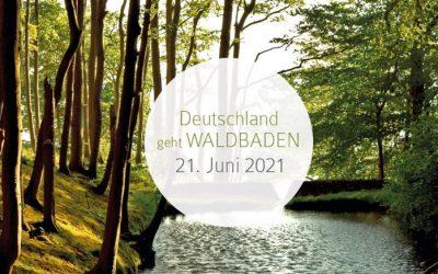 Deutschland geht Waldbaden am 21.6.2021